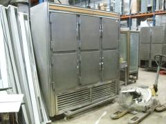 Armario refrigeracion 6 puertas acero inoxidable