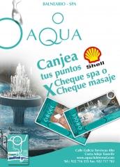 Canjea tus puntos Shell en Cheque spa o Cheque masaje y dirsfrutalo en nuestro centro...