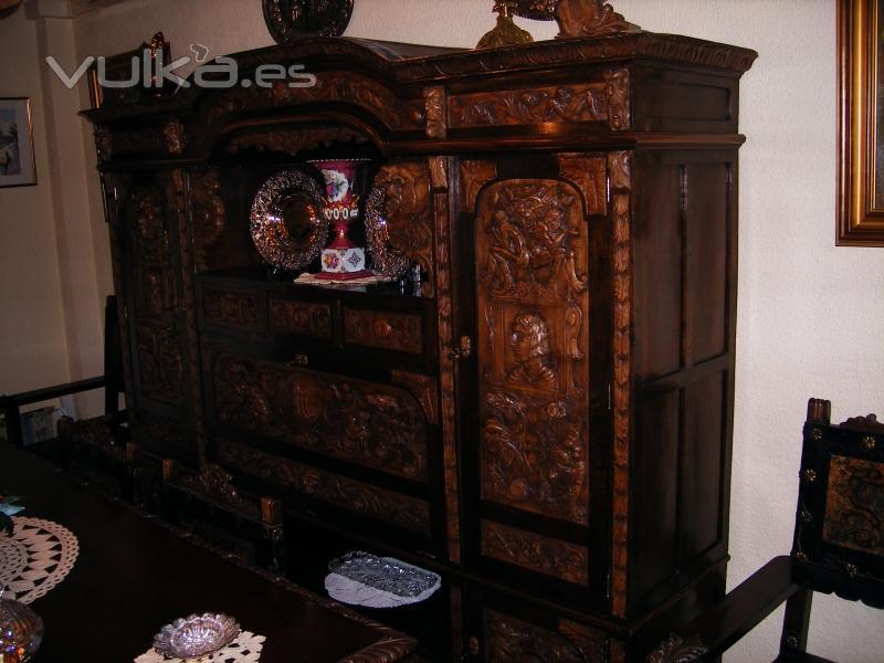 Foto mueble de estilo renacimiento espa ol restaurado por for Mueble castellano restaurado