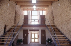 Hall albergue de turismo rural actio