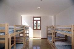 Habitaci�n de 8 plazas con ba�o del Albergue de Turismo Rural ACTIO