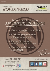 Curso de Wordpress. Inicio pr�xima convocatoria: 8 de julio.