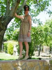 Vestido peace & love 100% viscosa