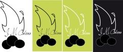 Diseño de logotipo de carbones vegetales cadena