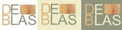 Diseño de logotipo de carpintería de blas