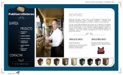 Diseño de página web de publiservilleteros