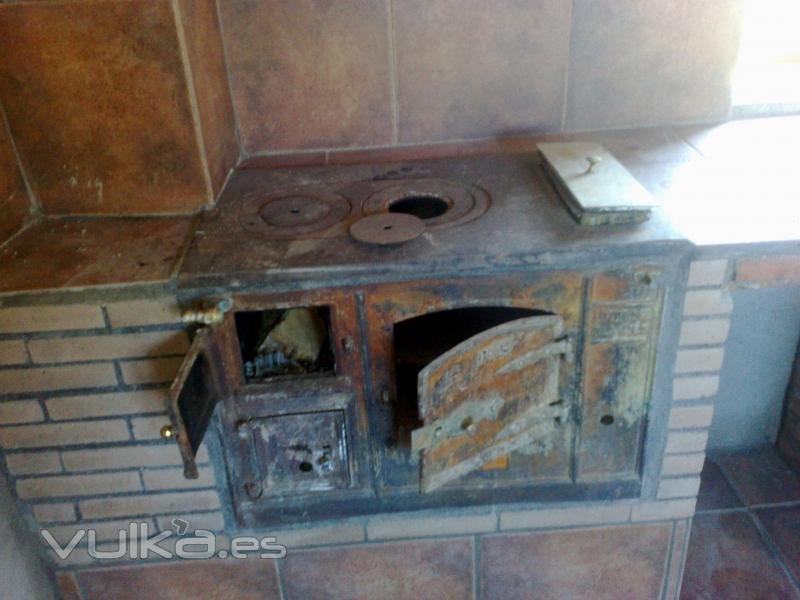 Foto cocina para carb n - Cocina de carbon ...