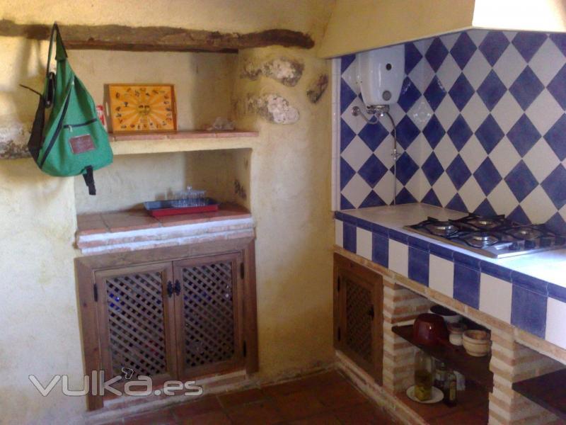 Foto cocina rustica - Cocinas de obra rusticas ...
