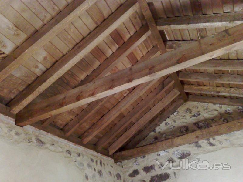 Foto artesonado trdicional - Fotos techos de madera ...
