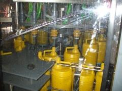 Envasadora rotativa, en pvc, para lej�as
