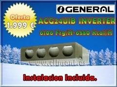 General fujitsu de conductos 1.999 eur 6106 frg/h instalacion incluida