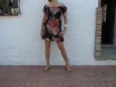 Mini vestido talla unica estampados surtidos
