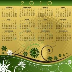 Dise�o gr�fico y maquetaci�n de calendario