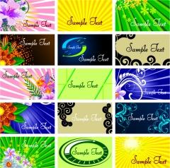 Diseño de tarjetas de empresa i