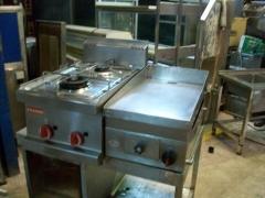 Cocina 2 Fuegos sobremesa Franke y Plancha Cromo 35x60cm Mirror 101_3526 (1)