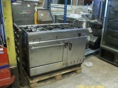 Cocina 6 fuegos con horno focc 101 3314