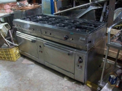 Cocina 8 fuegos con horno Focc 101_3012