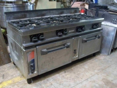 Cocina 8 fuegos con Horno Macfrin 101_3010