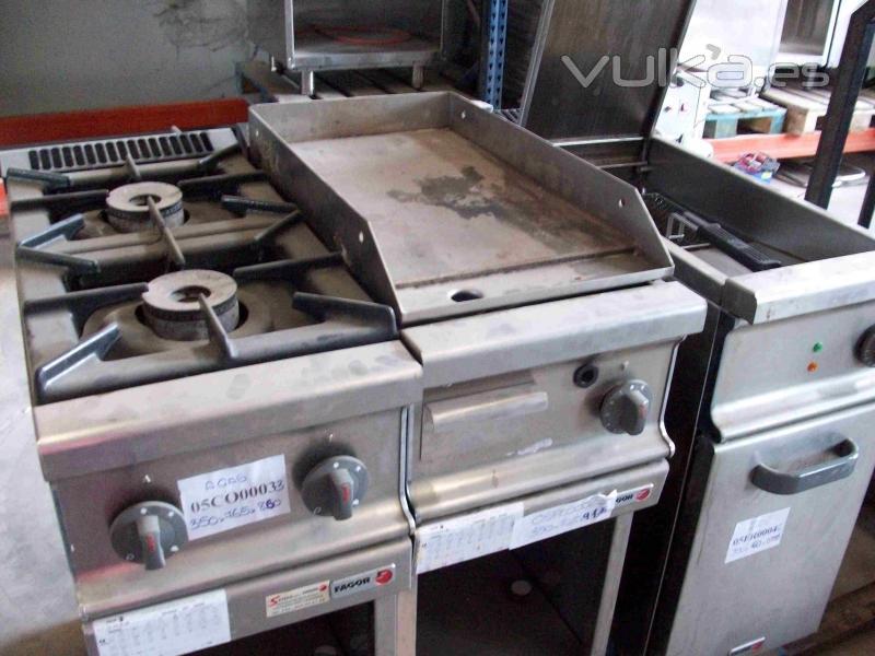 Islas de cocina segunda mano for Planchas de cocina industriales de segunda mano