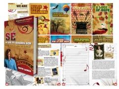 Libro sé lo que quieres ser (bilingüe) - (http://www.arteluzdesign.com/2010/trabajos1.html)
