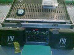 Mesa de directo de sonido  ph sounds