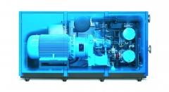 Compresores de tornillo lubricados de hasta 400 kw