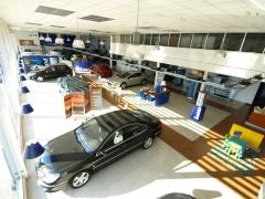 Exposición vehículos nuevos