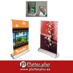 Miniroller, ideal para promociones sobre mostradores o mesas