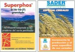 FERTIEUROPA  Productos especiales envasados fabricados por SADER, S.A. y distribuidos por FERTIEUROPA, S.A. en ...