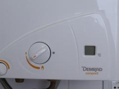 Sat oficial demrad. calentador automatico de gas, 11 l.