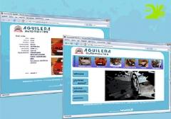 Automóviles Aguilera - Página web