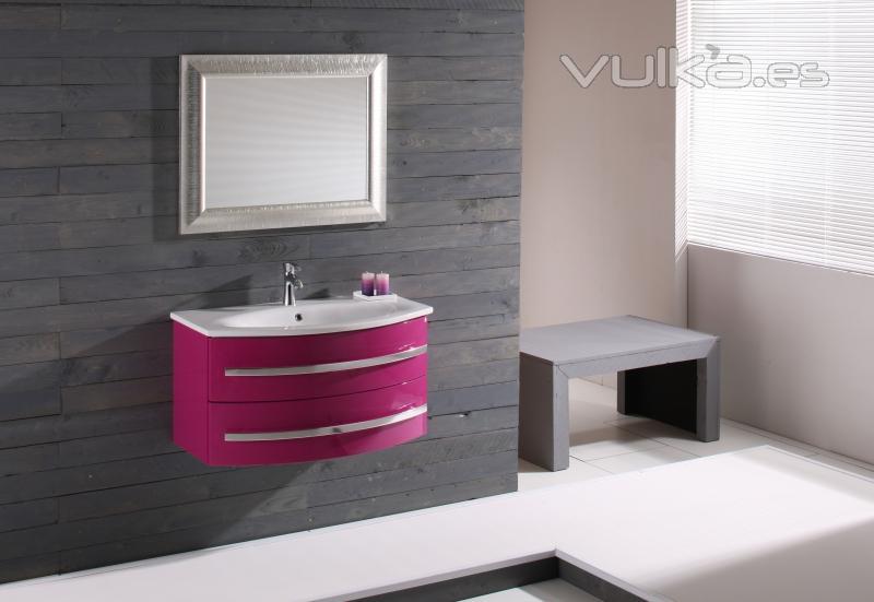 Foto mueble de ba o moderno lavabo ceramica alta calidad for Muebles de bano de diseno modernos