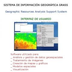 Interfaz de usuario del gis grass