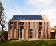 La empresa francesa karawitz arquitectura  ha desarrollado una casa pasiva, aprovechando la energ�a solar pasiva, ...