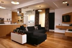 Este apartamento de dise�o y muy funcional fue redise�ado por stefan lazar, un dise�ador de interiores y ...