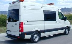 Ambulancia carrozada por indusauto