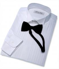 Sastrer�a DelaVegaTailors Camisa wing collar y pajarita