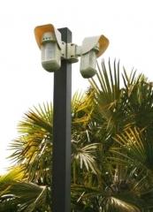 Seguridad perimetral extrior. doble tecnología pir+mw