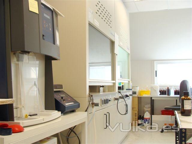 Laboratorio de pruebas f�sico-qu�micas