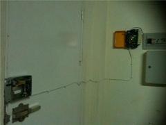 cerradura con mando a distancia