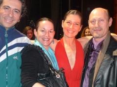Nuestros amigos Sara Baras y Jos� Serrano