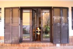 Se pueden plantear combinaciones de dos tipos de estructuras (balconera y mallorquina).