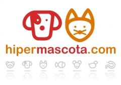 Logotipo Hipermascota la tienda de las mascotas y animales de compa��a