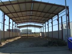 Fabricacion y montaje de estructura metalica