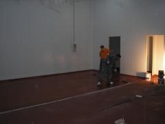 Pavimento sala despiece carne
