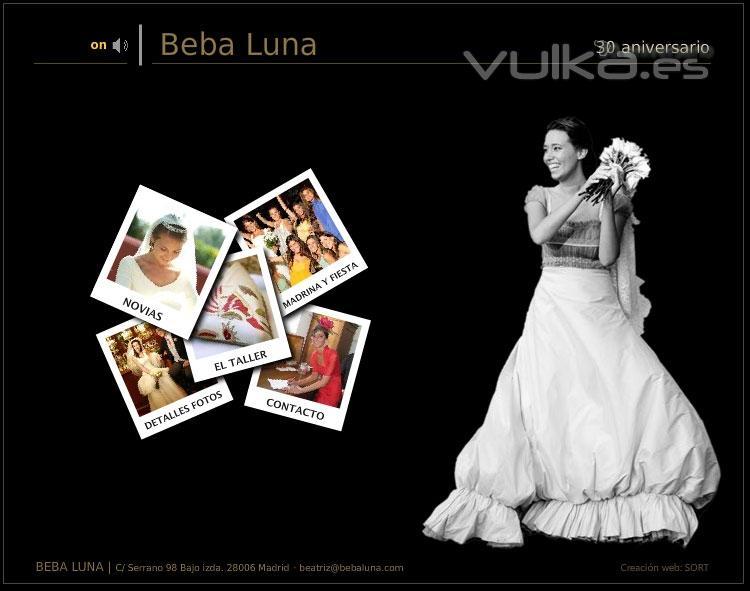 Foto dise o web tienda alta costura novias beba luna - Diseno alta costura ...
