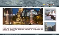 Dise�o web hotel cas�n del tormes de madrid