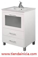 Mueble  mb01 60 cm  blanco