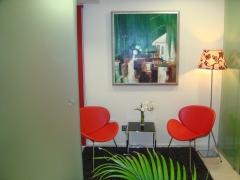 Sala de espera vip, para quien quiere no ser visto