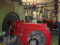 Laboratorio farmaceútico -mantenimiento quemadores-